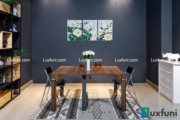 Giới thiệu 5 bộbàn ăn gỗ thông minh HOT nhất đã có mặt tại Luxfuni-1