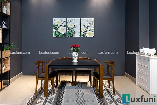Giới thiệu 5 bộbàn ăn gỗ thông minh HOT nhất đã có mặt tại Luxfuni-3