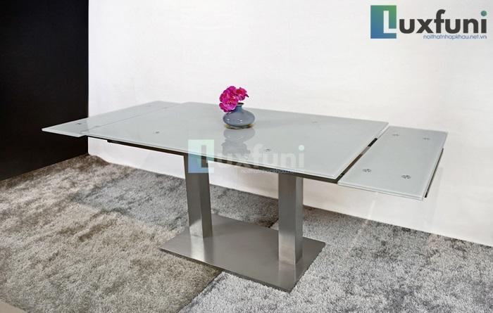 Những bộ bàn ăn mặt kính cường lực siêu ấn tượng-2