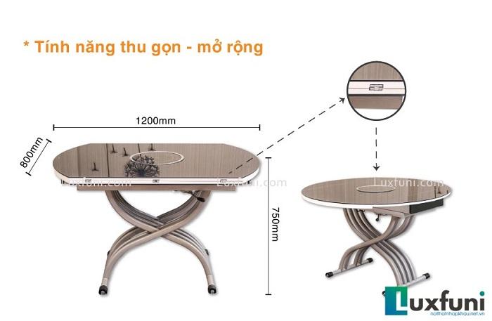 Những bộ bàn ăn mặt kính cường lực siêu ấn tượng-5