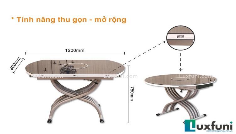 Những bộ bàn ăn mặt kính cường lực siêu ấn tượng-6