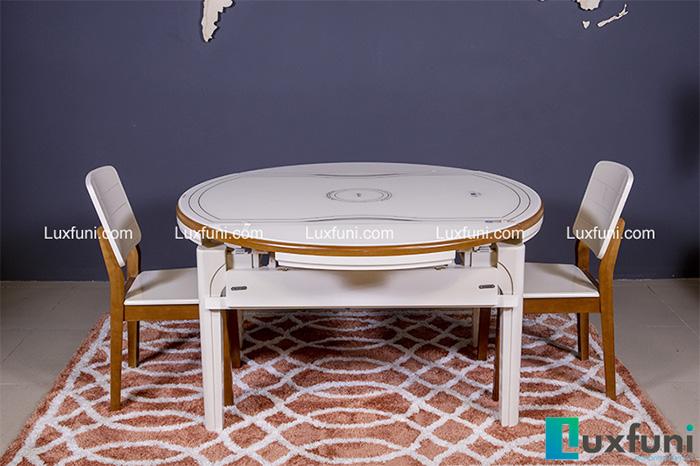 """Tham khảo bộ sưu tập bàn ăn thông minh 6 ghế """"đáng tiền nhất""""-1"""