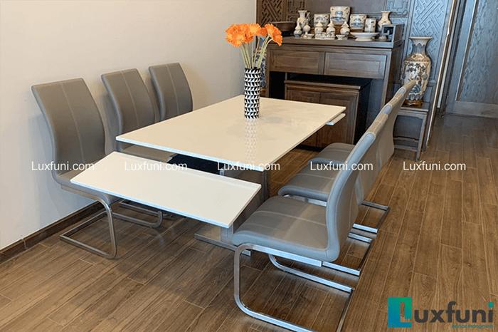 Tiêu chuẩn kích thước bàn ăn 2, 4, 6, 8, 10 ghế-4