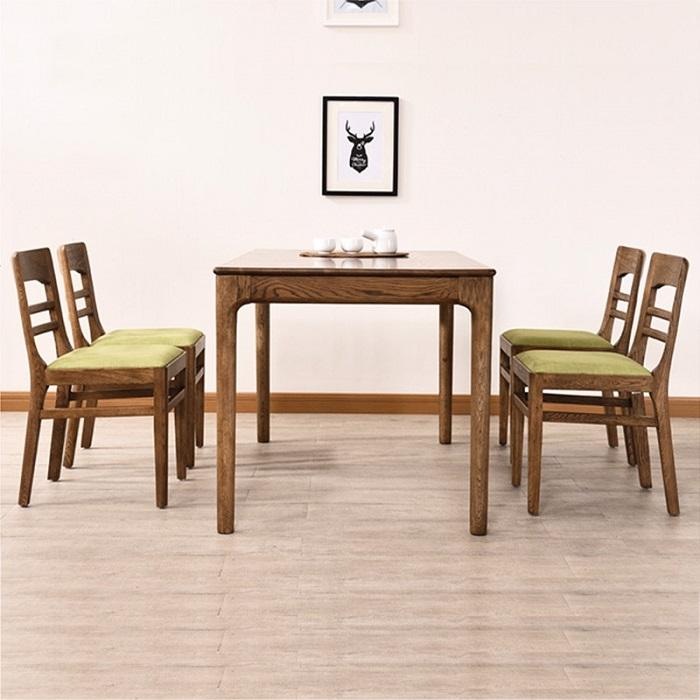 Ưu điểm và hạn chế của bàn ăn gỗ tự nhiên-1