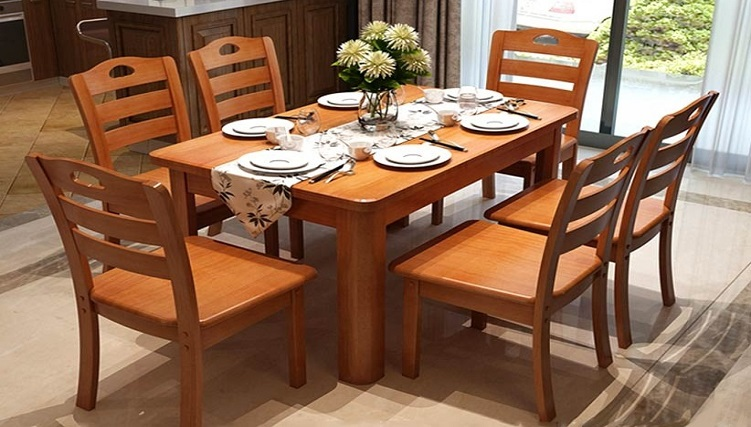 Ưu điểm và hạn chế của bàn ăn gỗ tự nhiên-4