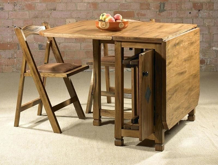 Bộ bàn ăn thông minh gấp gọn cho không gian nhỏ-14