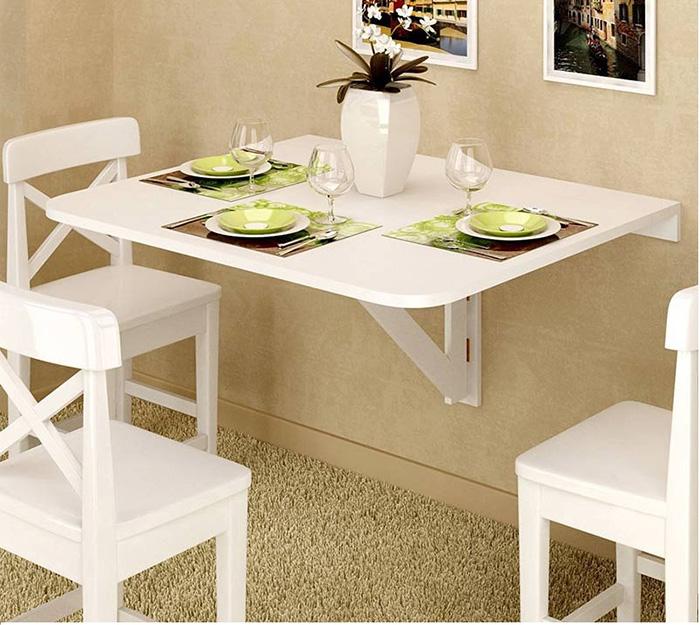 Bộ bàn ăn thông minh gấp gọn cho không gian nhỏ-18