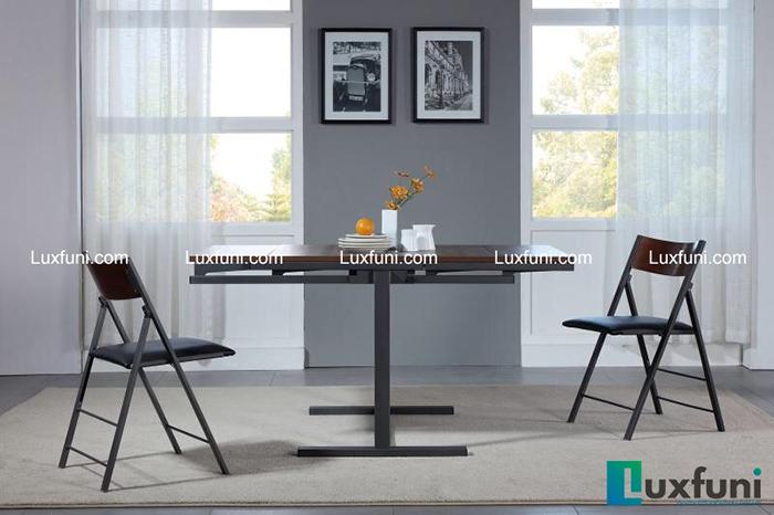 Bộ bàn ăn thông minh gấp gọn cho không gian nhỏ-2