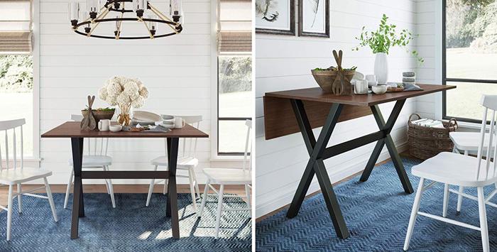 Bộ bàn ăn thông minh gấp gọn cho không gian nhỏ-20