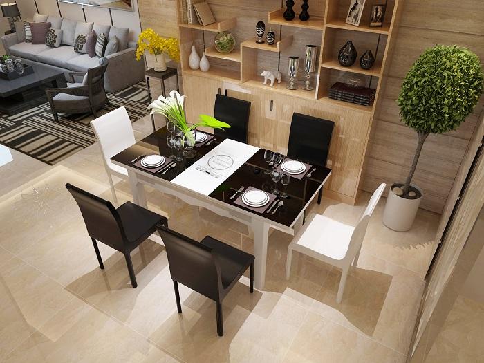 Những bộ bàn ăn 6 ghế hiện đại hút khách nhất-5
