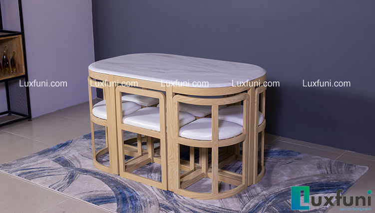 Những bộ bàn ăn 6 ghế hiện đại hút khách nhất-6