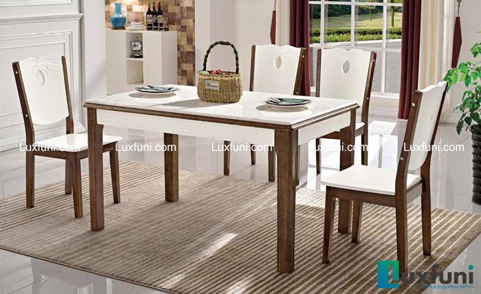 Tham khảo những mẫu bàn ăn đẹp hiện đại 6 ghế vừa túi tiền-4