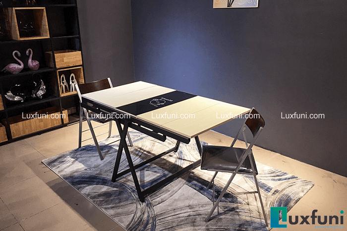 Tham khảo những mẫu bàn ăn đẹp hiện đại 6 ghế vừa túi tiền-8