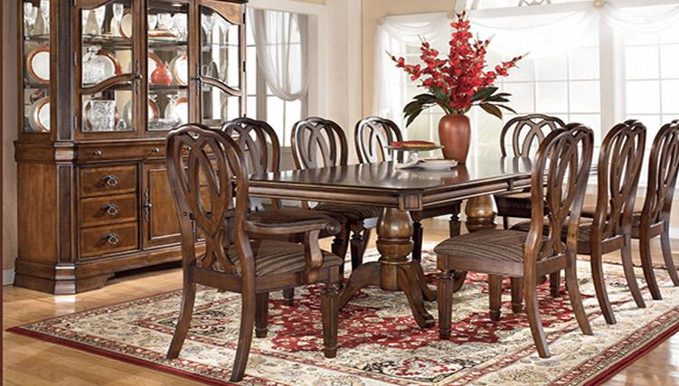 Trải nghiệm phong cách hoàng gia với bàn ghế ăn cổ điển-9