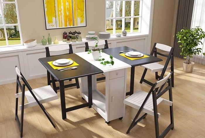 Các mẫu bàn ăn thông minh thông dụng nhất hiện nay-1