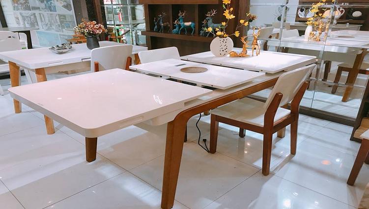 Các mẫu bàn ăn thông minh thông dụng nhất hiện nay-7