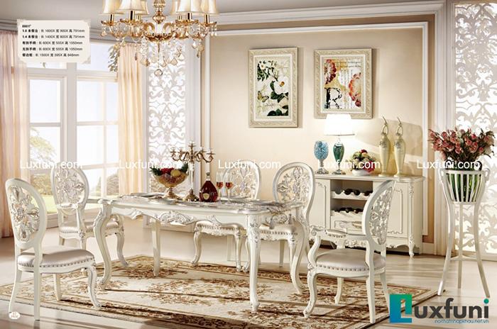 [Cập nhật] Những bộ bàn ăn tân cổ điển sang trọng nhất năm 2020-6