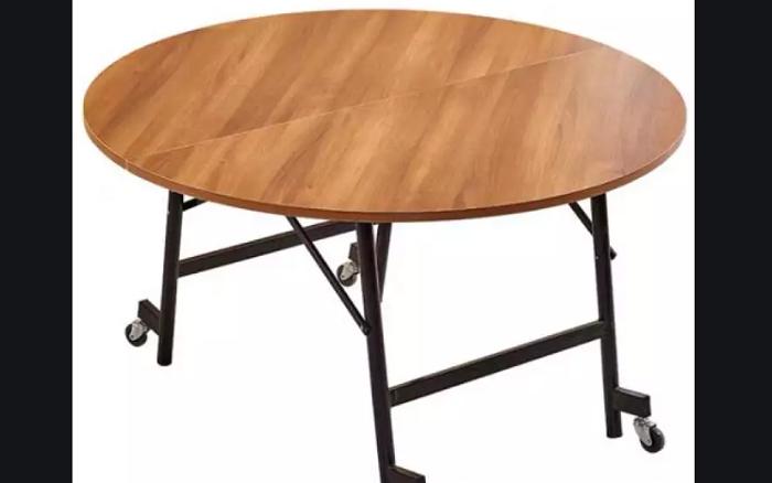 Chiêm ngưỡng những mẫu bàn ăn gấp gọn bằng gỗ siêu tiện ích-5