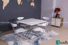 Chiêm ngưỡng những mẫu bàn ăn gấp gọn bằng gỗ siêu tiện ích