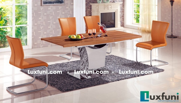 Điểm danh những thiết kế bàn ăn hiện đại sang trọng-6