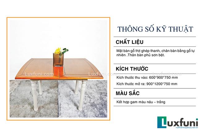 """Mẫu bàn ăn đẹp tại Hà Nội bằng gỗ tự nhiên """"vạn người mê""""-3"""