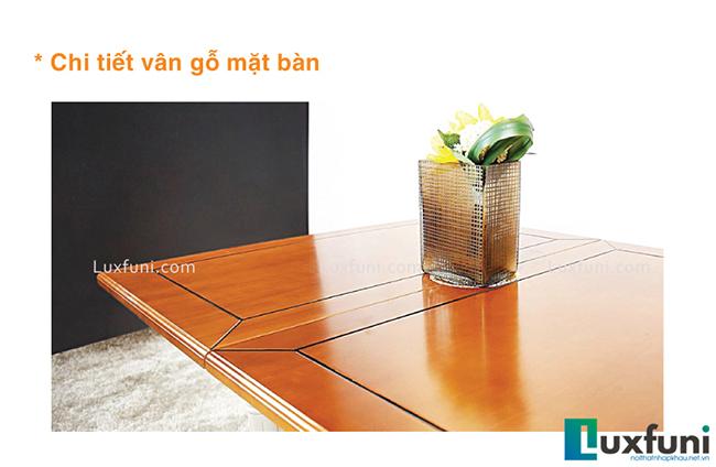 """Mẫu bàn ăn đẹp tại Hà Nội bằng gỗ tự nhiên """"vạn người mê""""-4"""
