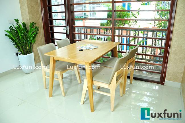 """Mẫu bàn ăn đẹp tại Hà Nội bằng gỗ tự nhiên """"vạn người mê""""-7"""