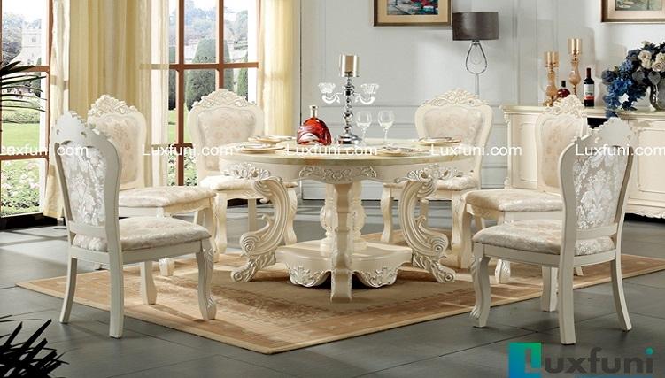 Những bộ bàn ăn đẹp 6 ghế hút khách nhất-6