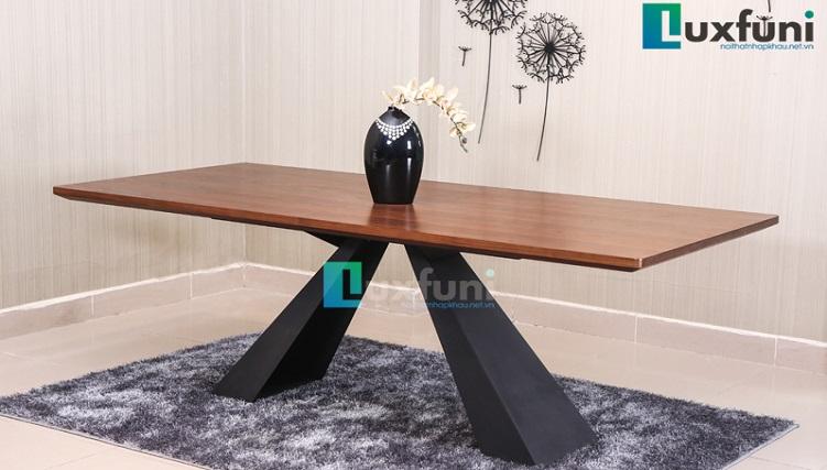 Những bộ bàn ăn gỗ cao cấp đẹp sang chảnh-6