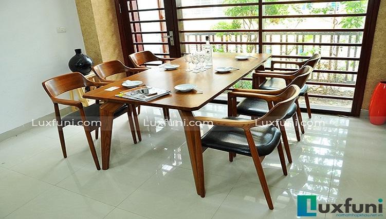 Những điểm nhấn ấn tượng của bàn ghế ăn phong cách Bắc Âu-2