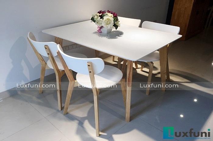 Những điểm nhấn ấn tượng của bàn ghế ăn phong cách Bắc Âu-4