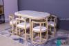 Những mẫu bàn ăn xếp gọn 6 ghế siêu ấn tượng
