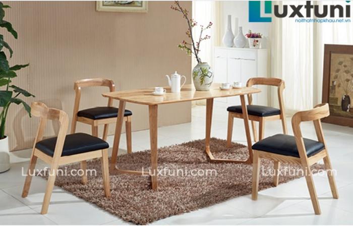 Top 5 bàn ăn gỗ 4 ghế chất lượng mà giá phải chăng-4