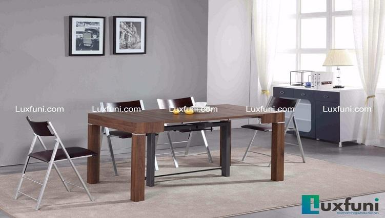 Top 5 bộ bàn ăn bằng gỗ đắt khách nhất-4