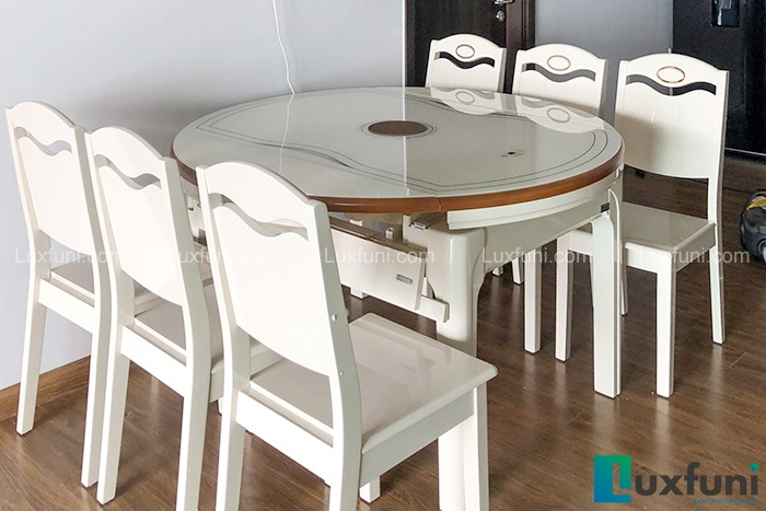 Bàn ăn bếp từ T1718-Chú Tiến-Tòa B, Chung cư Gamuda, Yên Sở-1