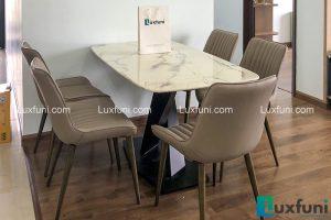 Bàn ăn mặt đá T261-Anh Huân-Tòa CT2, Chung cư Hateco, Xuân Phương, Nam Từ Liêm