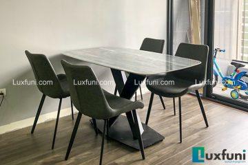 Bộ bàn ăn hiện đại UK T261 (kèm 4 ghế)