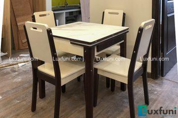 Bộ bàn ăn thông minh 863 (Kèm 4 ghế)