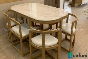 Bộ bàn ăn thông minh C1-Anh Thuân-Tòa H3, Chung cư Hope Resident, Chu Huy Mân, Long Biên