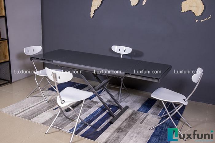 Bộ bàn ghế inox mặt kiếng giá bao nhiêu trên thị trường hiện nay-7