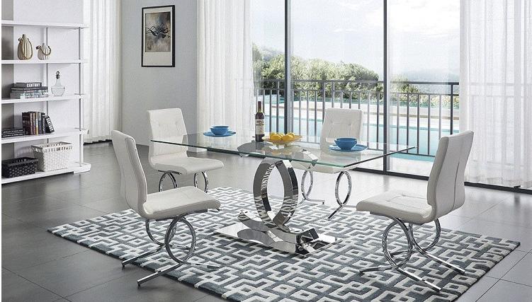 Bộ bàn ghế inox mặt kiếng giá bao nhiêu trên thị trường hiện nay-9