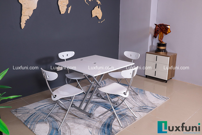 Đánh giá 5 mẫu bàn ăn gấp gọn bán chạy tại Luxfuni-1
