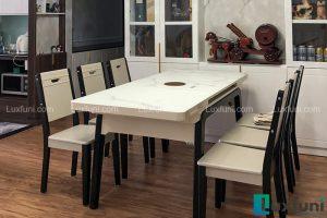 Ghế ăn 16 kết hợp bàn ăn bếp từ T1958-Anh Bình-Tòa HHB, Chung cư Thái Hà, 43 Phạm Văn Đồng-1
