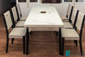 Ghế ăn 16 kết hợp bàn ăn bếp từ T1958-Anh Bình-Tòa HHB, Chung cư Thái Hà, 43 Phạm Văn Đồng-2