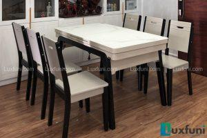 Ghế ăn 16 kết hợp bàn ăn bếp từ T1958-Anh Bình-Tòa HHB, Chung cư Thái Hà, 43 Phạm Văn Đồng