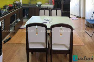 Ghế ăn 23 kết hợp bàn ăn bếp từ 870-Anh Trọng-DDN3, OCT2, Bắc Linh Đàm-1