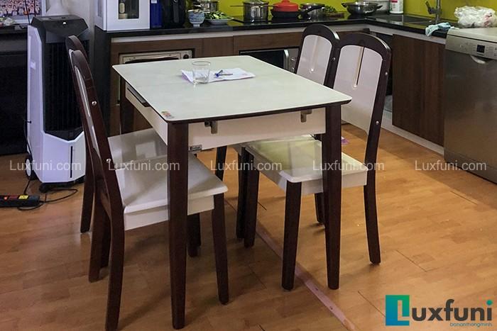 Ghế ăn 23 kết hợp bàn ăn bếp từ 870-Anh Trọng-DDN3, OCT2, Bắc Linh Đàm