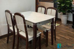 Ghế ăn 23 kết hợp bàn ăn bếp từ 870-Anh Vinh-Tòa S3, Gold Mark City, 136 Hồ Tùng Mậu