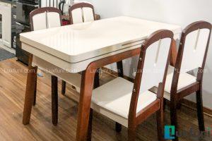 Ghế ăn 23 kết hợp bàn ăn bếp từ T1358-Chị Nguyệt-Tòa FS, 47 Nguyễn Tuân-1