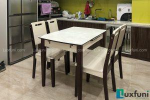 Ghế ăn 28 kết hợp bàn ăn bếp từ 870-Chú Dũng-Tòa P1, KĐT Ciputra-1